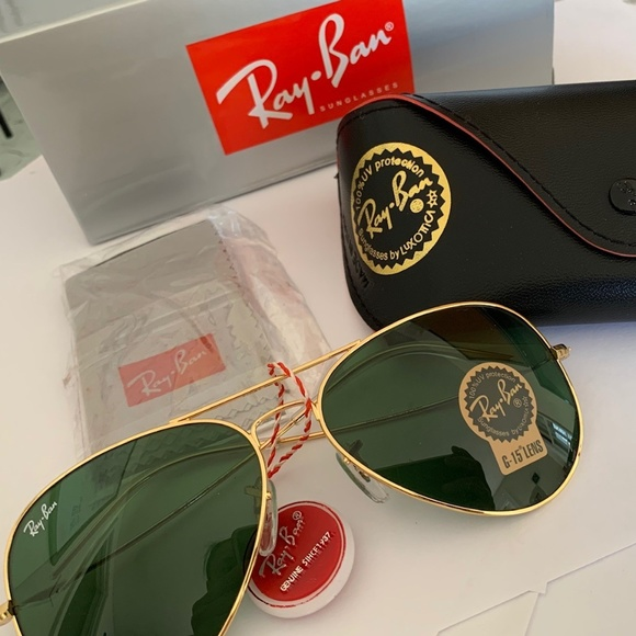 NEW with Tags Ray Ban RayBan Aviator Sunglasses